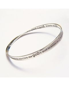St. Patricks Prayer Christian Bangle Bracelet