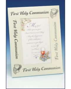 Communion Picture Frame Silver