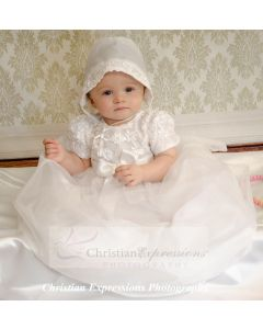 Andrea Christening Gown or Girls