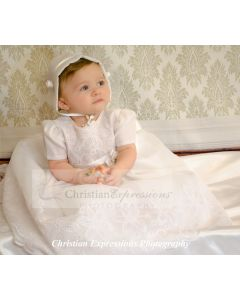 Whitney Christening Gown or Girls