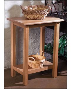 Church Credence Table Light Maple