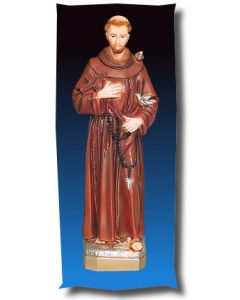 St. Francis Outdoor Statue Full Color