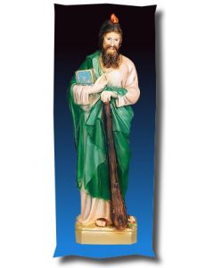 St. Jude Outdoor Statue Full Color