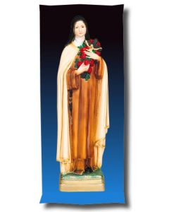 St. Theresa Outdoor Statue Full Color
