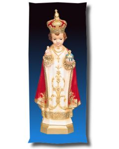 Infant of Prague Outdoor Statue Full Color