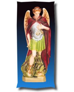 St. Michael the Archangel Outdoor Statue Full Color