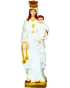 Our Lady of Mercy Outdoor Statue Full Color