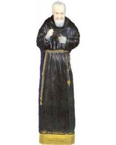 Padre Pio Outdoor Statue Full Color