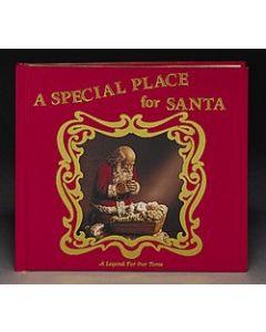 -Kneeling Santa Story Book