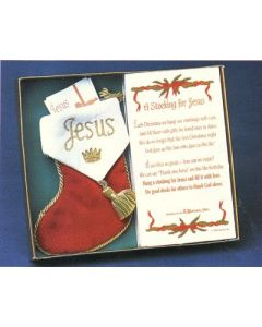 A Stocking For Jesus Christmas Ornament