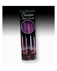 "Advent Candles 10""H"