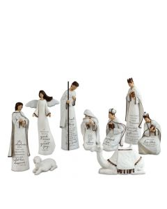A Savior is Born Christmas Nativity Set
