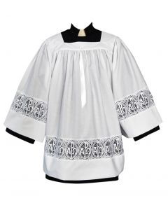Alpha Omega Clergy Surplice
