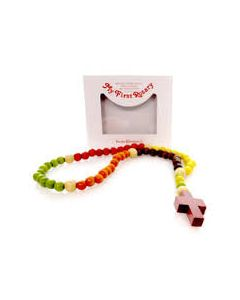 Baby Wooden Rosary Beads