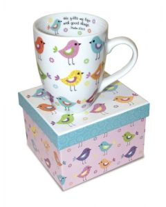 Birds Psalm Christian Coffee Mug
