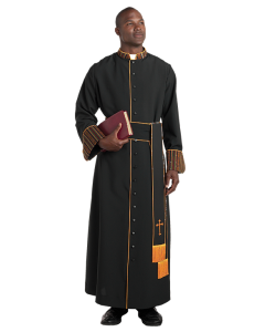 Bishop Cassock with Kente Trim