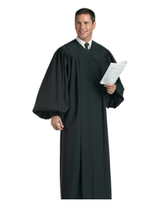 Black Choir Robe