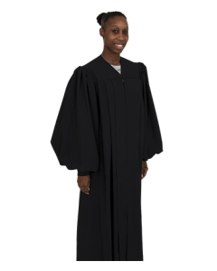 Black Preaching Robes for Women