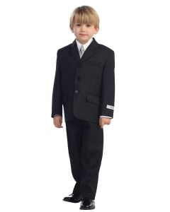Boys Double Pin Stripe First Communion Suit