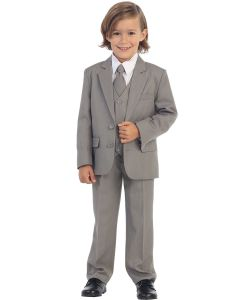 Boys First Communion Suit with Two Buttons
