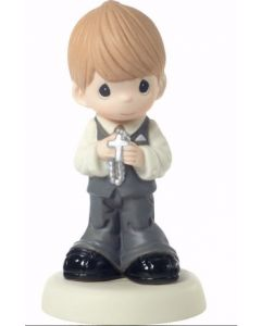 Boys Porcelain Precious Moments First Communion Figurine