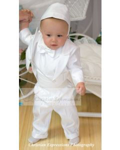 Boys Christening Tuxedo Suit Style Bryan