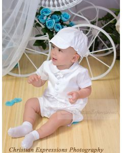 Boys Modern Christening Outfit
