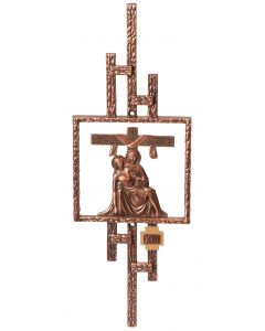 Bronze Stations of the Cross No Mounting