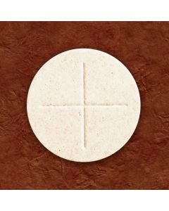 "2 3/4"" White Cavanagh Communion Bread Box of 50"