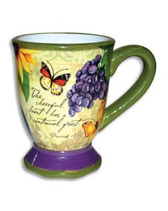Cheerful Heart Bella Vita Christian Coffee Mug