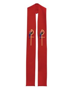 Chi Rho Clergy Stole or Deacon Stole