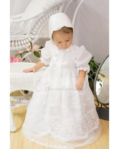 Girls Christening Gown Style Pauline