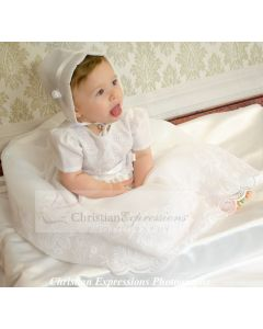Girls Christening Gown Style Candice