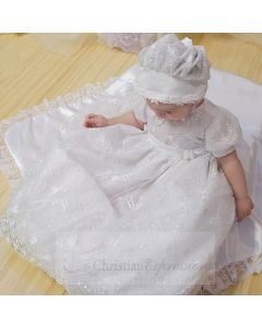 Girls Christening Gown Style  Emma