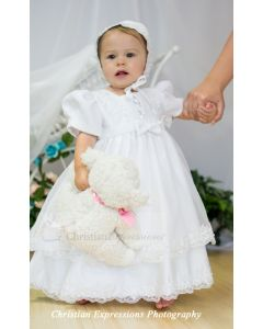 Girls Christening Gown Style  2190