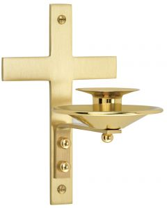 Church Dedication Wall Bracket for Candle