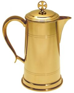 Church Flagon with Lid 48 Oz