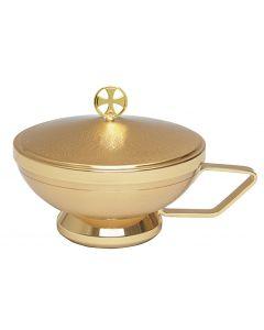 Communion Host Bowl with Handle 250 Host Cap.