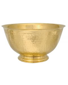 Communion Service Bowl with Hammered Finish