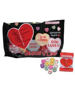 Conversation Hearts Scripture Candy Bag