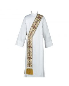 Coronation Tapestry Deacon Stole