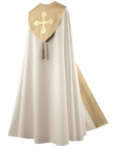 Cream Festive Clergy Cope