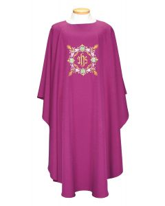 Decorative IHS Clergy Chasuble