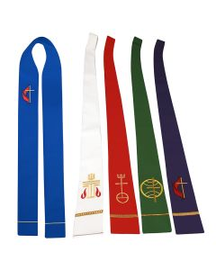 Denomination Symbol Clergy Stoles