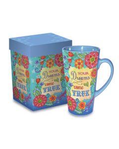 Dreams Come True Christian Coffee Mug Gift Boxed