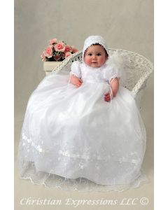 Girls Christening Gown Style Renee