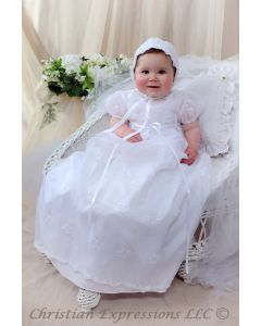 Ginger Christening Gown