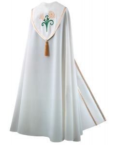 Easter Lily Clergy Cope