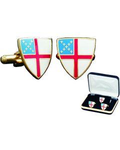 Episcopal Shield Church Cufflinks Gift Set