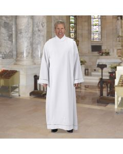 Cowl Neck Monastic Alb